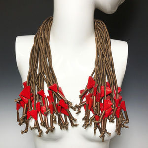 Ports 1961 Luke Tanabe Multi Strands Silk Necklace